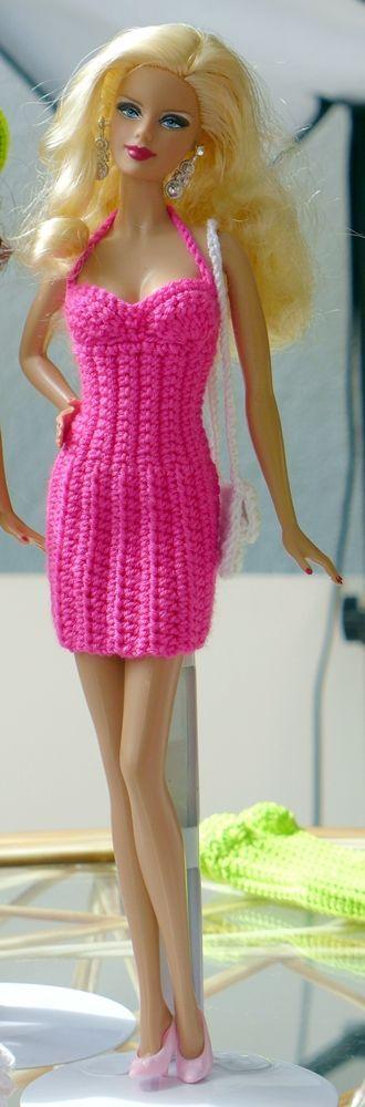 9 besten Barbie Bilder auf Pinterest | Barbiekleidung, Häkelpuppen ...