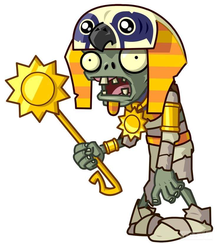 a zombie from plants vs zombies. there is no gare shown, as this type of zombie was made for a childrens game.