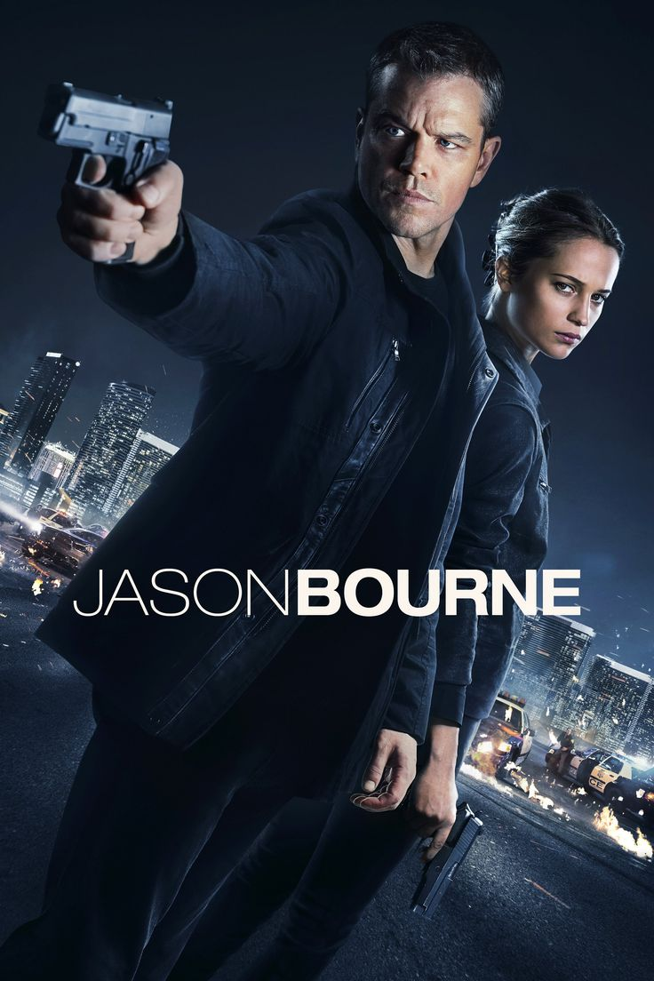 Jason Bourne - The fifth film in the Bourne franchise, and the first featuring Jason Bourne since The Bourne Ultimatum. Jason Bourne, now remembering who he truly is, tries to uncover hidden truths about his past.