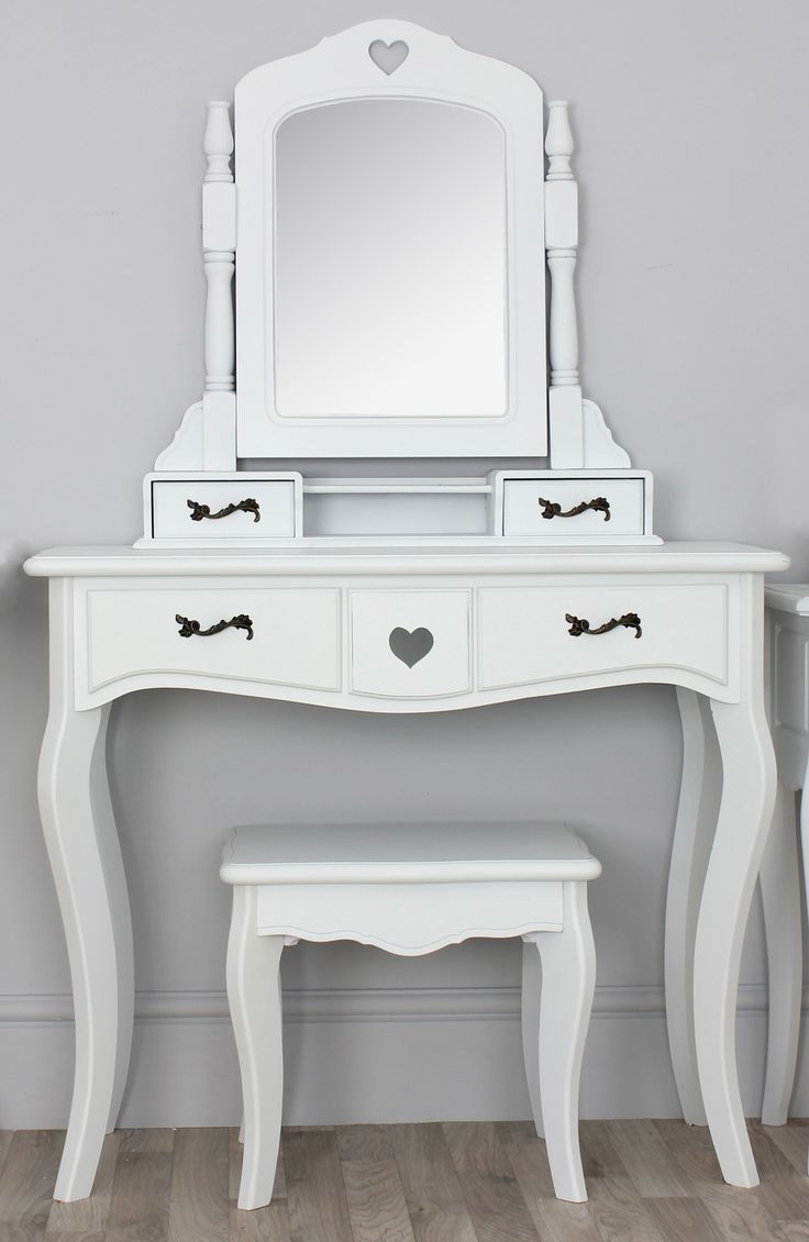 The 25 best narrow dressing table ideas on pinterest large narrow white vanity table with four drawers and spinning mirror 17 designs of handy vanity geotapseo Choice Image