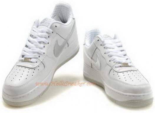 http://www.asneakers4u.com Nike Air Force 1 Womens Low White