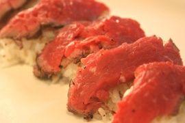 NHK WORLD TV   Your Japanese Kitchen   Rare beef sushi (encore)