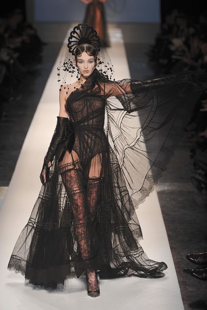 themadhatterfashionshow:  Chanel Haute Couture Spring/Summer 2009- Jean Paul Gaultier