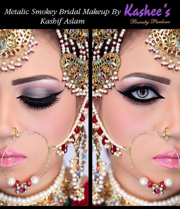 Glamorous Bridal Makeup From Start To Finish : Glamorous Bridal Makeup By Kashif Aslam Kashees Beauty ...