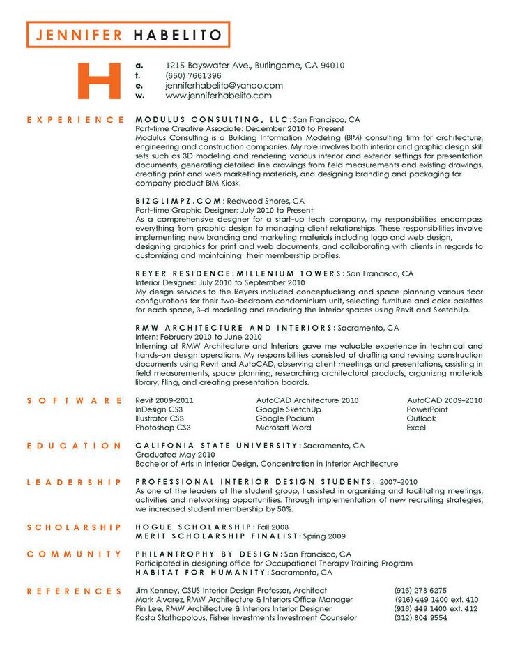 8 best  ideias cv  images on Pinterest Resume design, Creative - interior design resumes