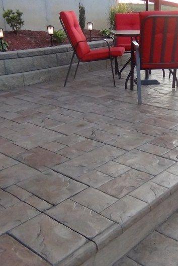 Concrete Patio Edge Ideas: Concrete Patios Tri-State Bomanite Cincinnati, OH