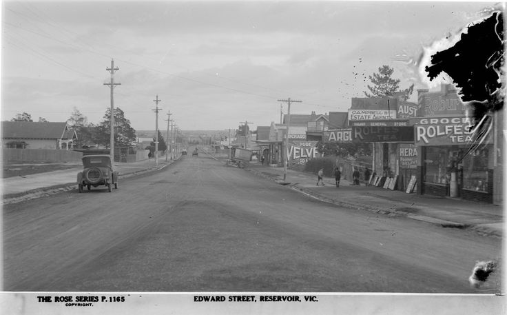 Edwards Street, Reservoir, 1920
