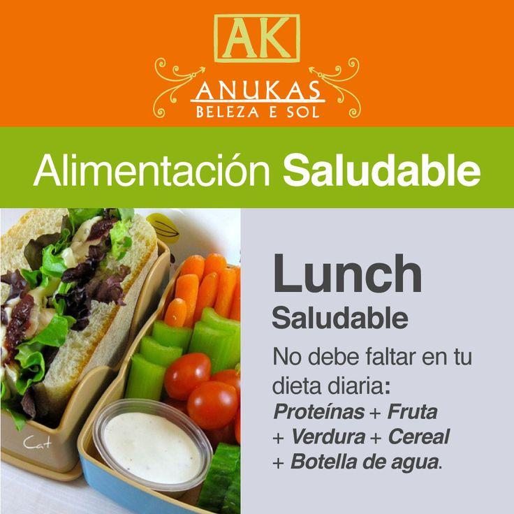 #Alimentación Saludable No debe faltar en tu dieta diaria...