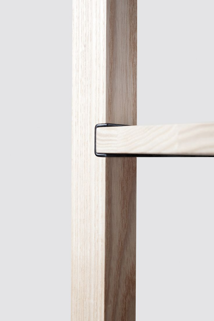 Details we like / Wood / Conenction / Metal / Black / Insert / Furniture / at mocoloco