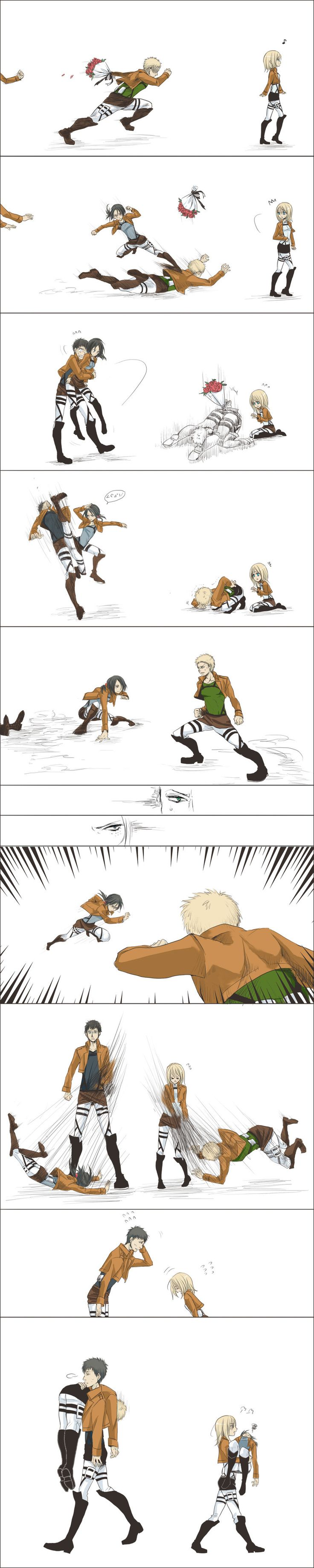 Short Comic [ymir+reiner+bert+christa]