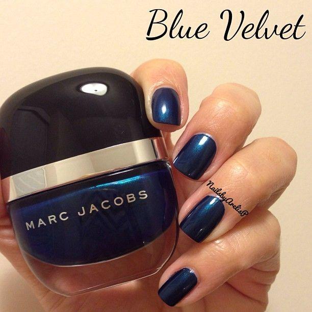 Marc Jacobs Nail Lacquer Blue Velvet