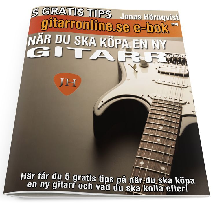 5 tips när du ska köpa ny gitarr (gratis) via Gitarronline. Click on the image to see more!