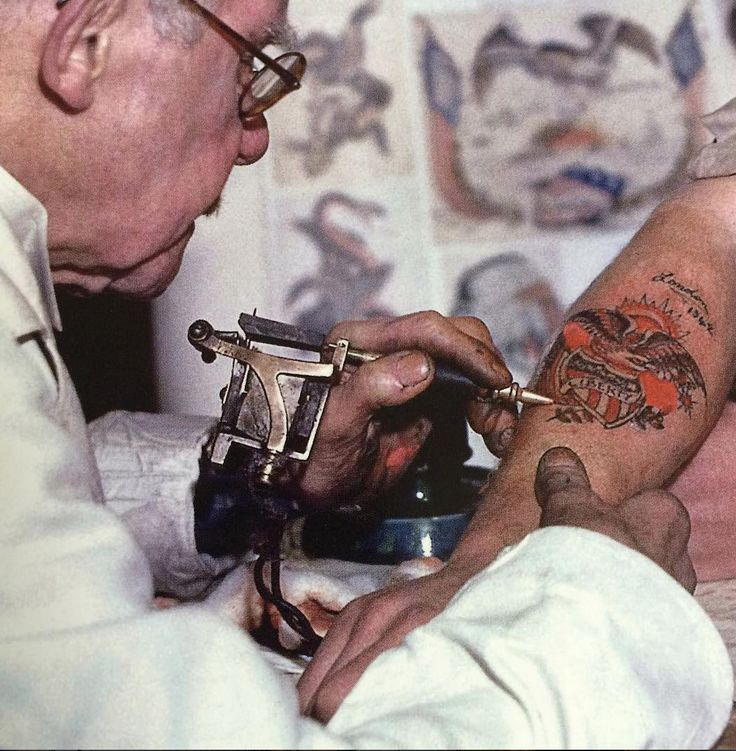 146 best old tattooists their shops their clients images for Anthony french tattoo