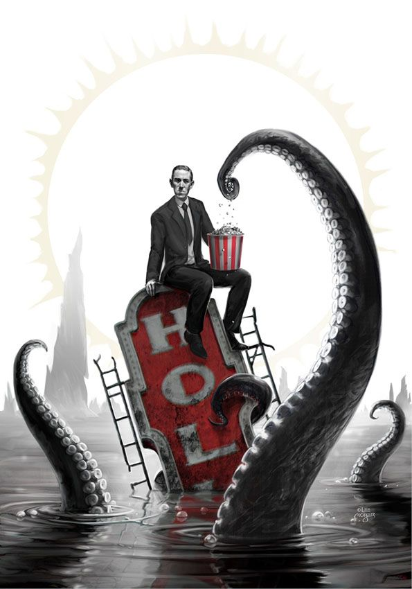HP Lovecraft Film Festival Poster 2015