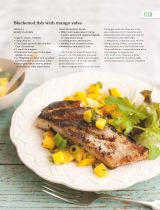 Blackened fish with mango salsa - Recipe Collection: delicious. - 2016-07-09 : Page 59