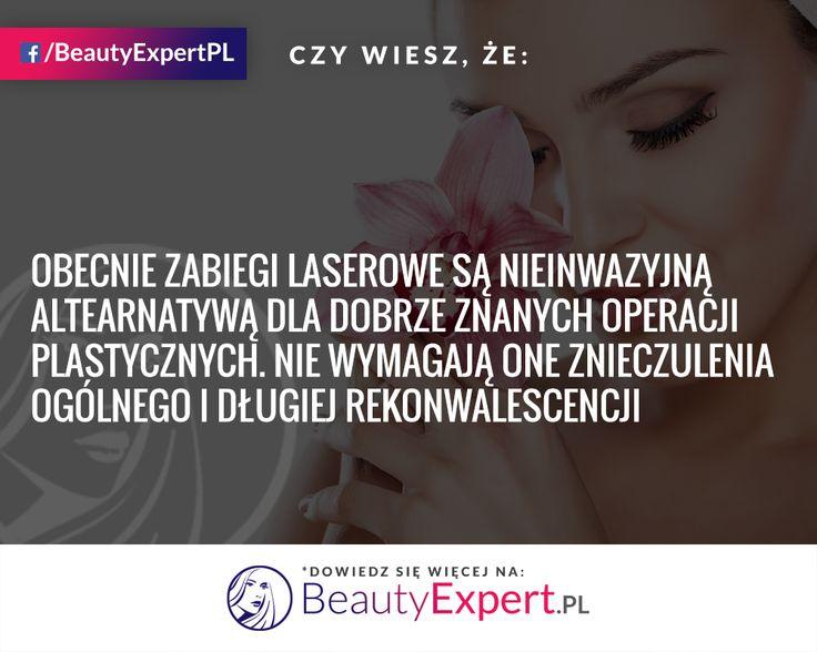 Korzystaliście kiedyś z dobrodziejstw zabiegów laserowych? :) #BeautyExpert #ZabiegiLaserowe #MedycynaEstetyczna #CiekawostkiMedyczne