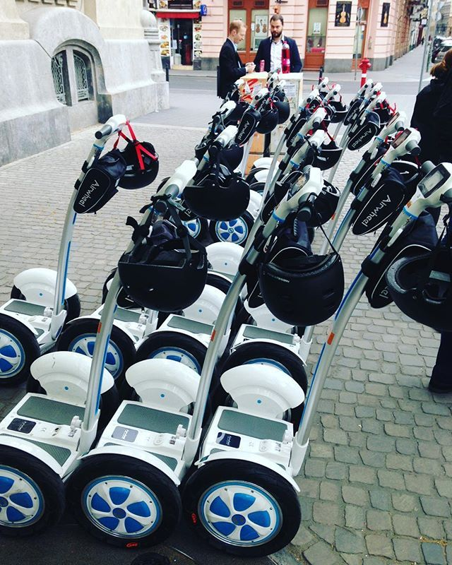Here we go. Ready for Budapest discovery🤘#segwaytour #budapestevent #citydiscovery #kickoff #meeting #eventplanner #eventprofs #dmcbudapest #pragueevents by prague_events.  kickoff #segwaytour #budapestevent #meeting #eventprofs #citydiscovery #eventplanner #dmcbudapest #pragueevents