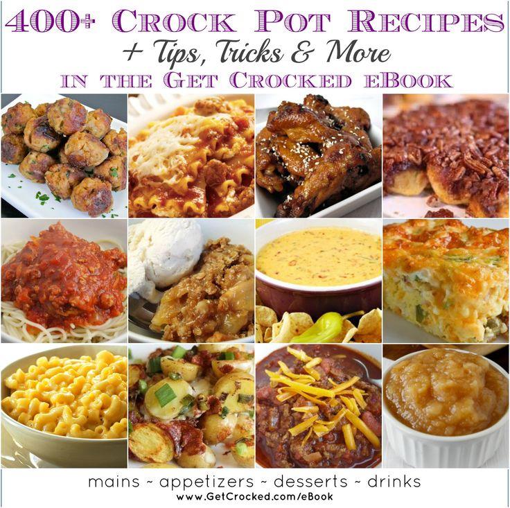 400+ Crock Pot recipes - download instantly
