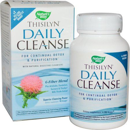Nature's Way Thisilyn Daily Cleanse 90 Vcaps, Multicolor