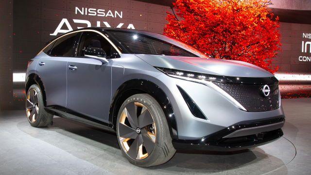 Tokyo Motor Show 2019 Live Nissan Ariya Et Imk Concept Tokyo