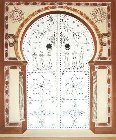 Tunisian door Plus  sc 1 st  Pinterest & 16 best Tunisian doors?portes tunisiennes images on Pinterest ...