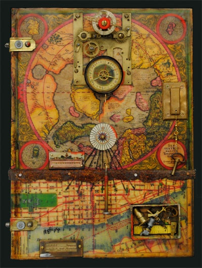Ray Papka - Altered Books