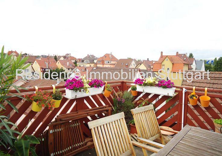 Wunderschöne 3-Zimmer-DG-Wohnung mit sonniger Dachterrasse, Ausblick, Garage…