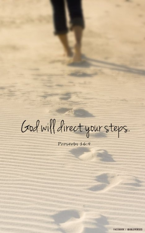 God will direct your steps :: iBibleverses - Devotional :: Collection of