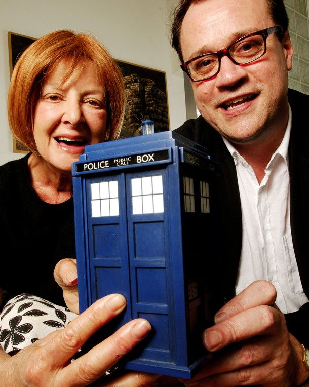 """From The SFX Archive: Russell T Davies Meets Verity Lambert - """"Back in 2006, SFX brought together pioneering Doctor Who producer Verity Lambert and new Who guru Russell T Davies for the very first time. Nick Setchfield and Steve O'Brien witnessed history being made… """""""