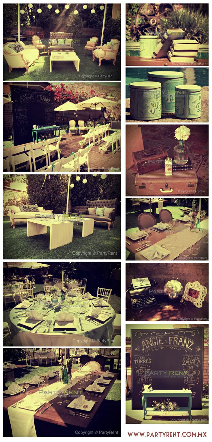 decoracion ideas accesorios produccion eventos fiestas bodas