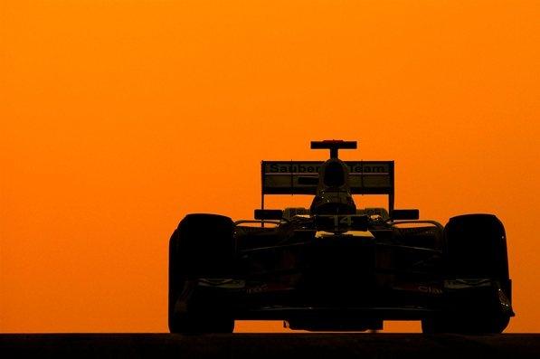 Kamui Kobayashi (JPN) Sauber C31.ormula One World Championship, Rd18, Abu Dhabi Grand Prix, Qualifying, Yas Marina Circuit, Abu Dhabi, UAE, Saturday, 3 November 2012