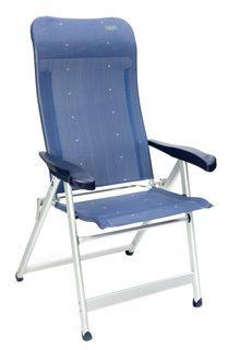 Deze Crespo kampeerstoel heeft een aluminium frame en textyleen bekleding. Daardoor is de stoel licht en weerbestendig. Een ideale stoel voor op de camping dus! >> http://www.kampeerwereld.nl/crespo-al-237-d-blauw/