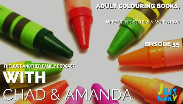 This week on the show we discuss stress and its impact on the body, methods to defeat stress and we take a look at the adult colouring book trend.