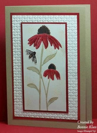 The Flowers & the Bees by bon2stamp - Cards and Paper Crafts at Splitcoaststampers