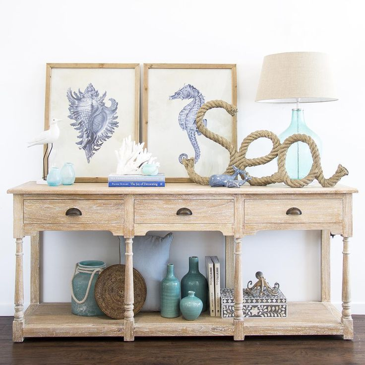 25 best ideas about coastal entryway on pinterest beach for Sofa table for plants