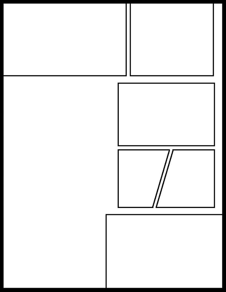 30 best images about blank comic panels on pinterest for Four panel comic strip template