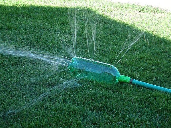 The Water Bottle Sprinkler