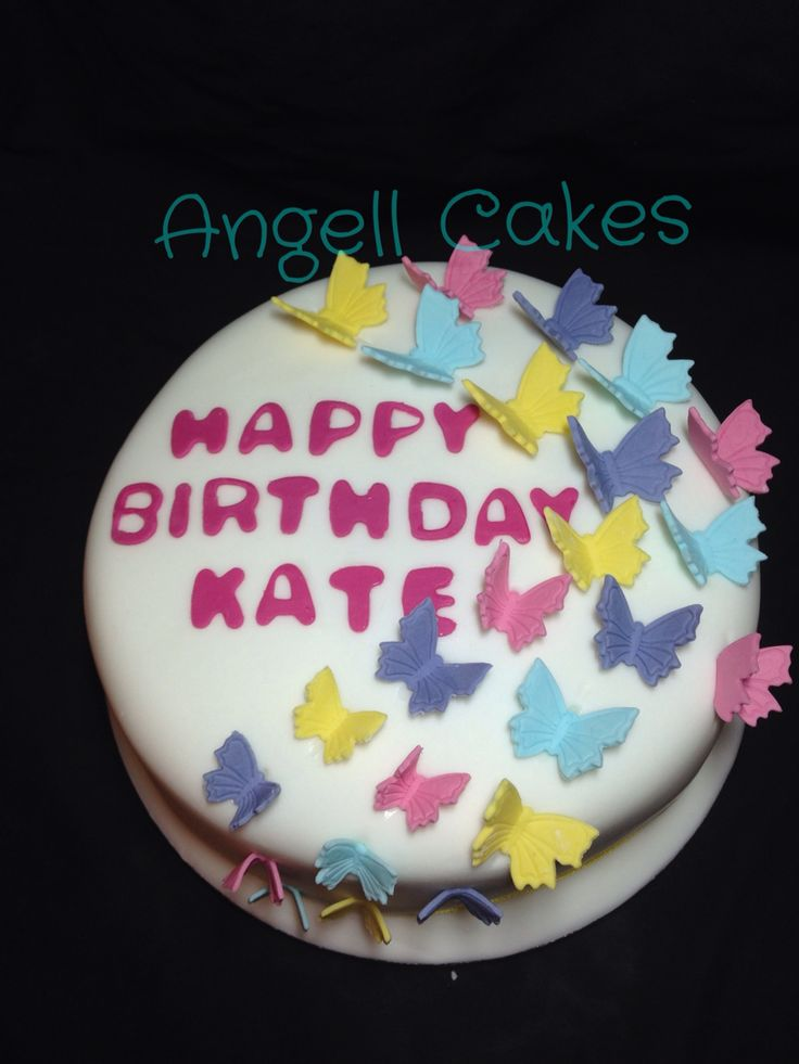 Butterfly cake by Angell cakes