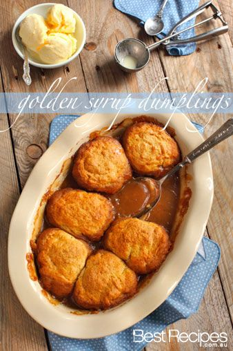Nothing says winter warmer than a golden syrup dumpling dish! #winter #recipe #dumplings #syrup