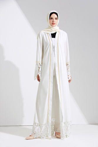 White Beading Lace Dress
