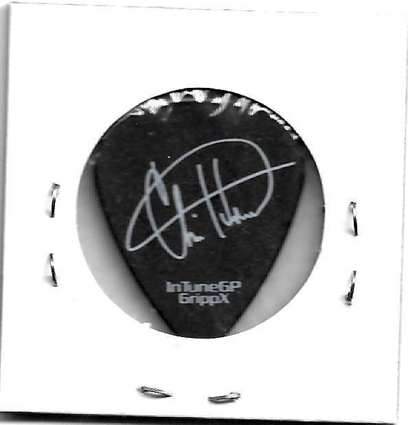 "3 Doors Down Chris Henderson SigGuitar Pick! 2014 ""Songs From The Basement"" tour"