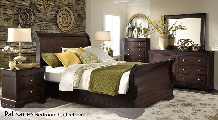 Palisadesd bed collection from Costco | Home ideas