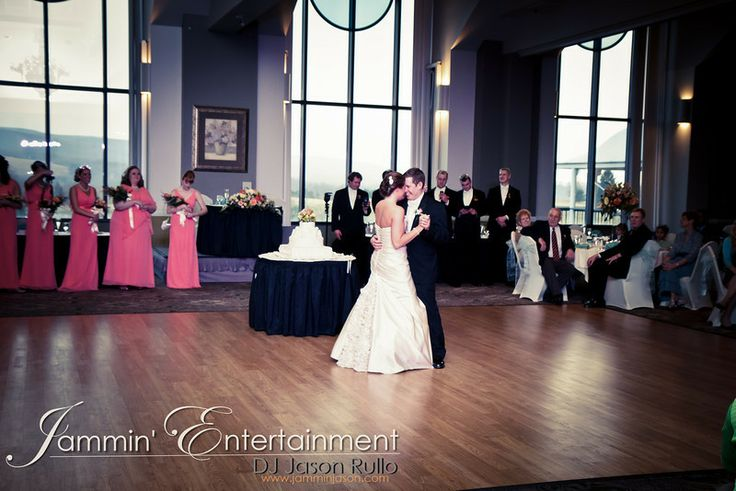 First Dance at Chestnut Ridge Golf Resort.  DJ Jason Rullo - www,jamminjason.com.  Pittsburgh Wedding DJ