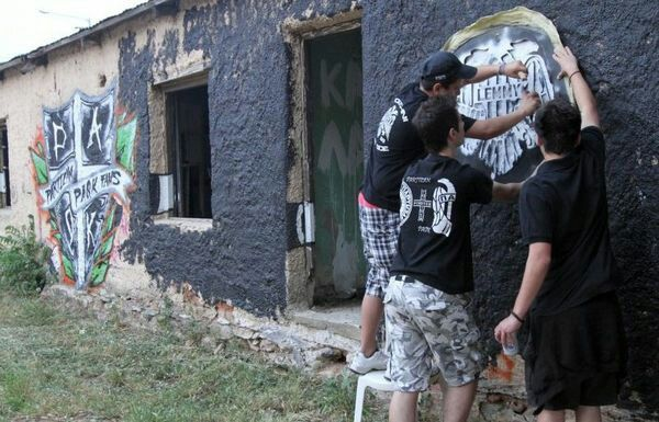 PAOK | Graffiti making of