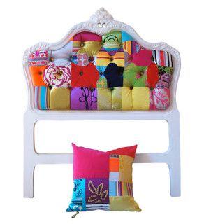 Single Bedhead - eclectic - headboards - by Squint Limited