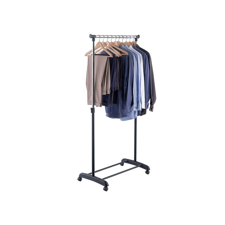 Neu Home Adjustable Garment Rack, Multicolor, Durable