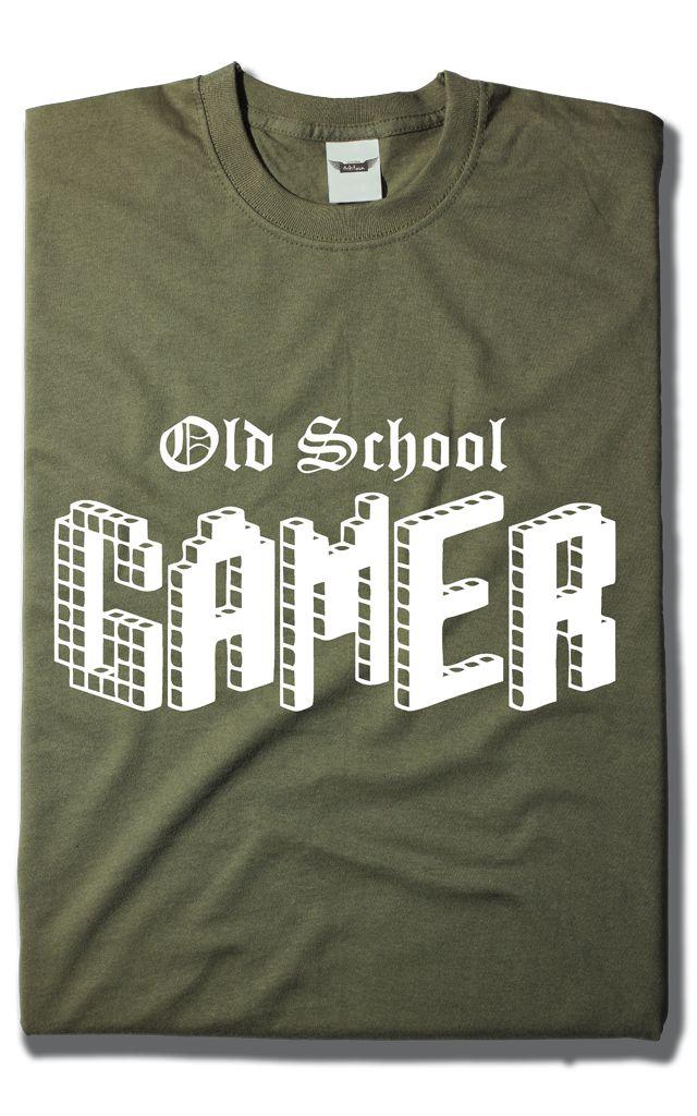 Camiseta Old School Gamers