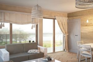 Luksusowy Dom Nad Jeziorem / Sirvis