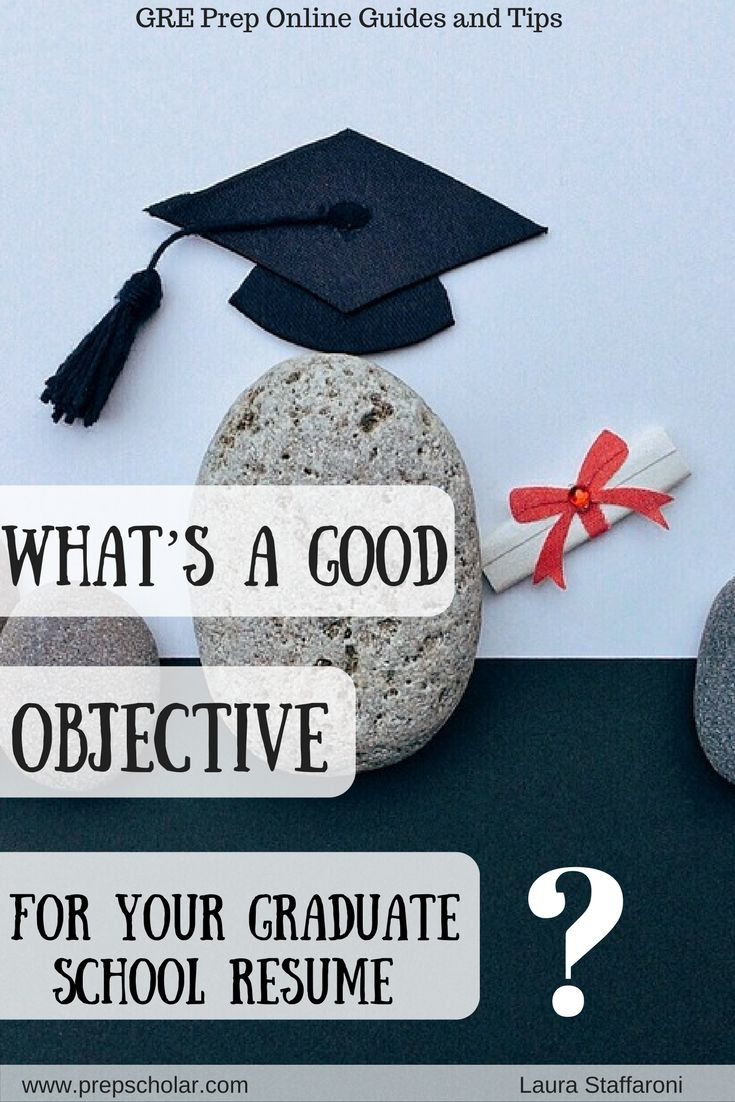 Once a staple of the resume template, the resume objective has fallen out of style for most job applications. But do you still need a resume objective for a graduate school resume? What are the cases where a graduate school resume objective helps rather than harms you?
