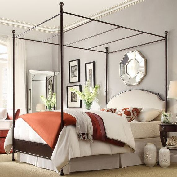 """Canopy Bed by Alcott Hill 